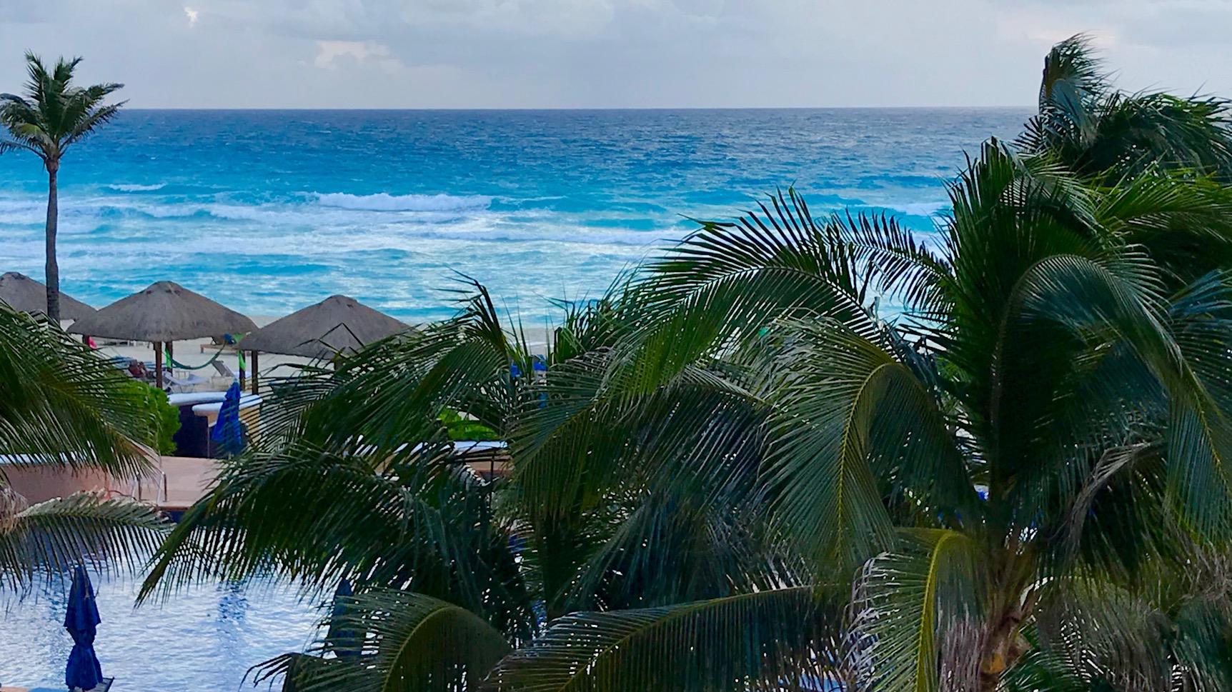 Ritz Hotel Beach in Cancun