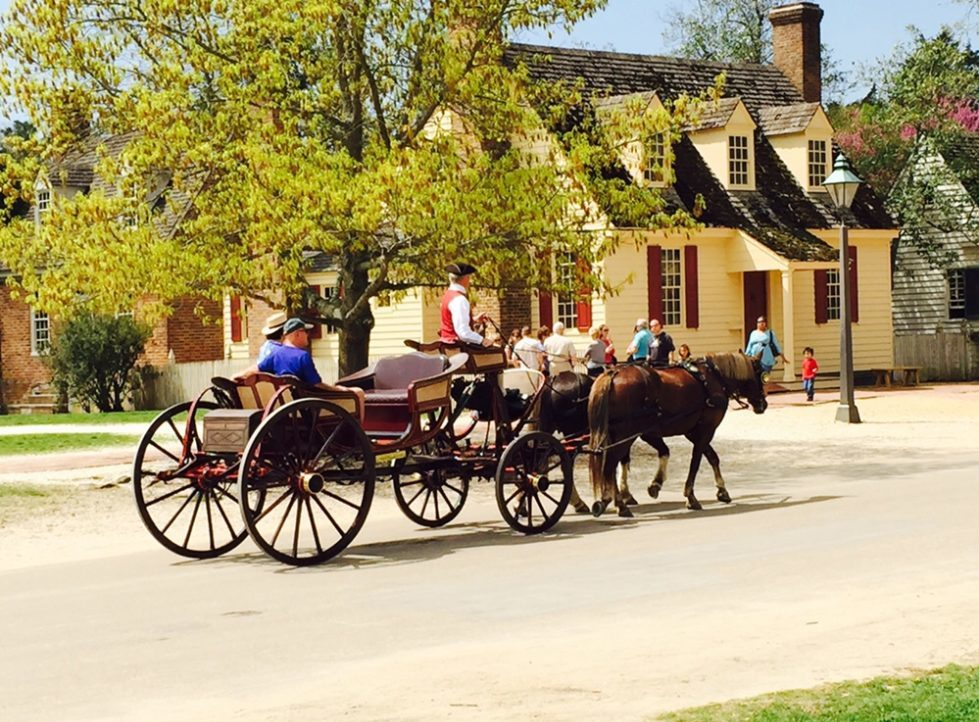 Horse & Wagon in Williamsburg, Virginia