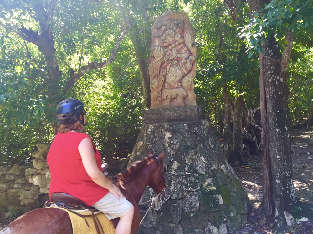 Horseback Riding to Mayan Ruins